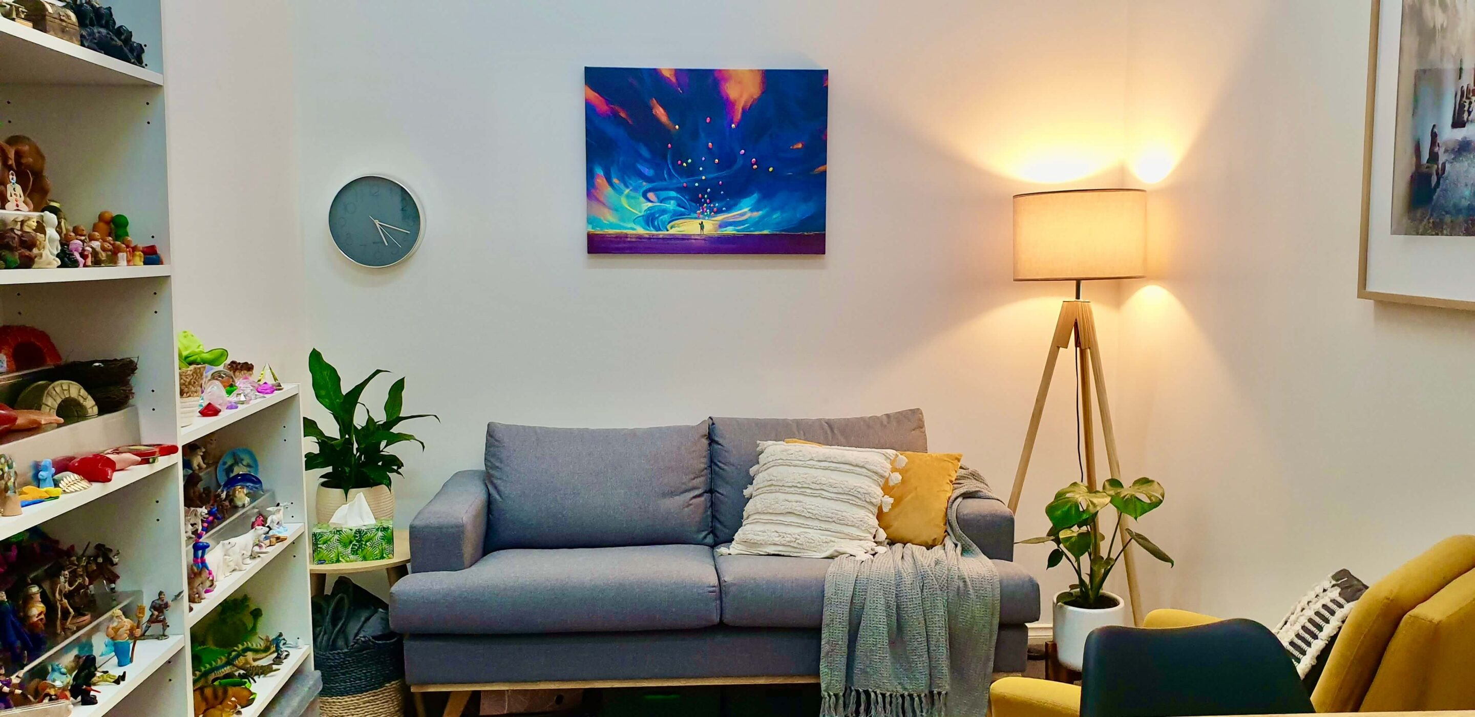 Insight Therapies counselling room
